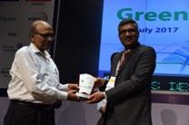 भारतीय रेलवे स्टेशन विकास निगम का पुरस्कार वितरण